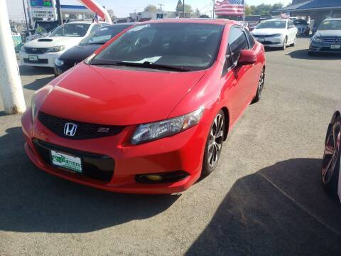 2013 Honda Civic for sale at Artistic Auto Group, LLC in Kennewick WA