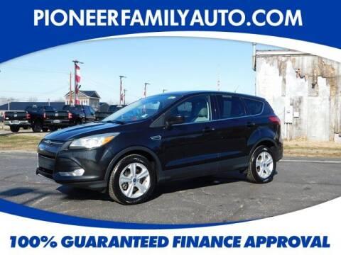 2015 Ford Escape for sale at Pioneer Family auto in Marietta OH