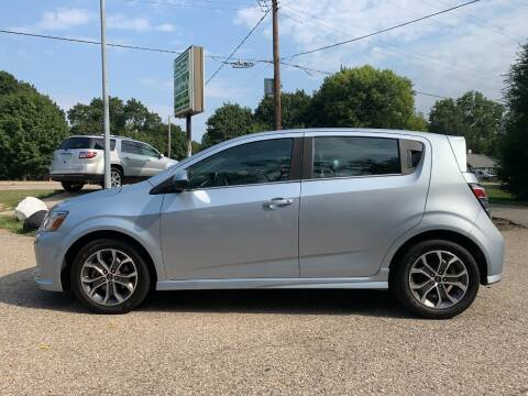 2018 Chevrolet Sonic for sale at SS AUTO PRO'S in Otsego MI