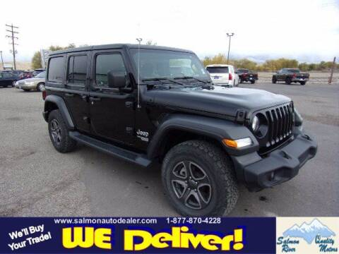 2019 Jeep Wrangler Unlimited for sale at QUALITY MOTORS in Salmon ID