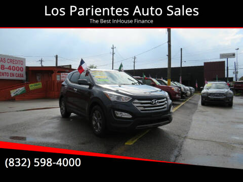 2015 Hyundai Santa Fe Sport for sale at Los Parientes Auto Sales in Houston TX