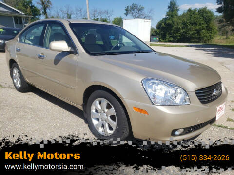 2007 Kia Optima for sale at Kelly Motors in Johnston IA