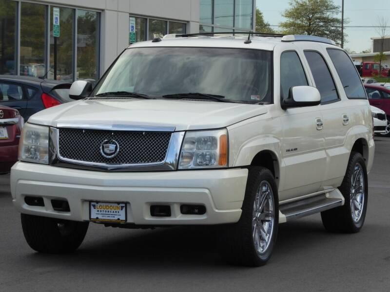 2005 Cadillac Escalade for sale at Loudoun Used Cars - LOUDOUN MOTOR CARS in Chantilly VA