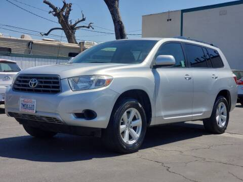 2010 Toyota Highlander for sale at First Shift Auto in Ontario CA