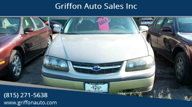 2001 Chevrolet Impala for sale at Griffon Auto Sales Inc in Lakemoor IL