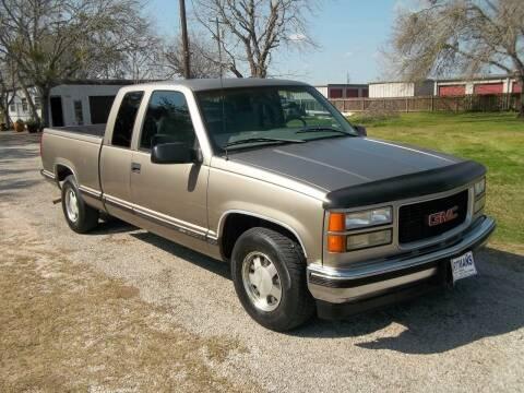 1999 GMC Sierra 1500 Classic for sale at Hartman's Auto Sales in Victoria TX