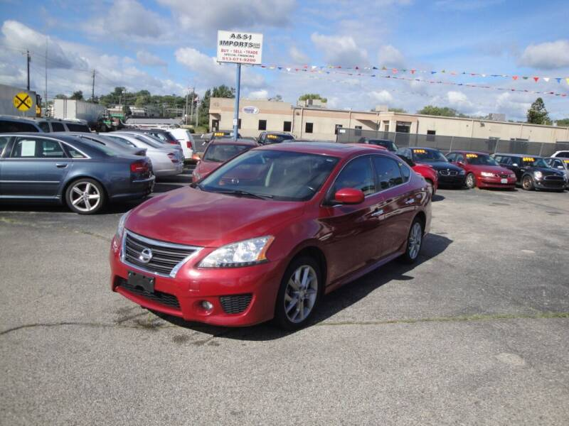 2014 Nissan Sentra for sale at A&S 1 Imports LLC in Cincinnati OH