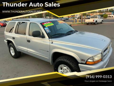 1999 Dodge Durango for sale at Thunder Auto Sales in Sacramento CA