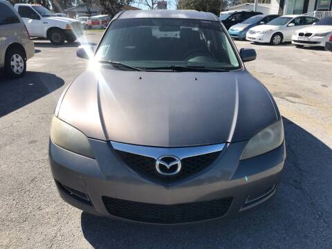 2008 Mazda MAZDA3 for sale at GOLDEN GATE AUTOMOTIVE,LLC in Zephyrhills FL