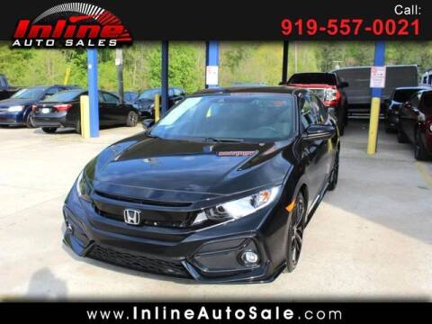 2021 Honda Civic for sale at Inline Auto Sales in Fuquay Varina NC