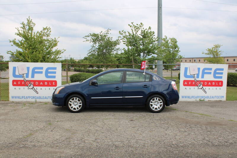 2012 Nissan Sentra for sale at LIFE AFFORDABLE AUTO SALES in Columbus OH