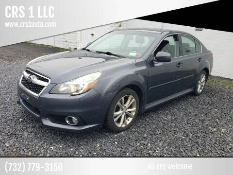 2014 Subaru Legacy for sale at CRS 1 LLC in Lakewood NJ