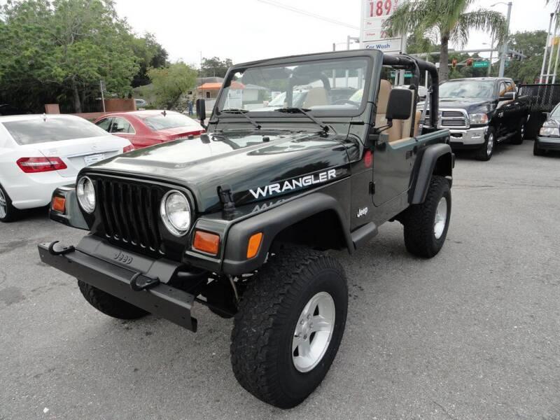1997 Jeep Wrangler for sale at DeWitt Motor Sales in Sarasota FL