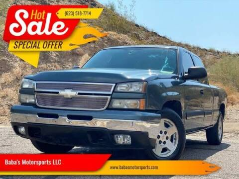 2006 Chevrolet Silverado 1500 for sale at Baba's Motorsports, LLC in Phoenix AZ