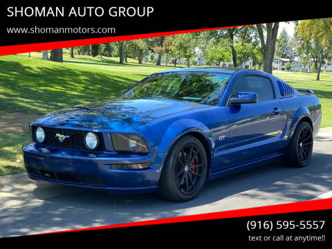 2006 Ford Mustang for sale at SHOMAN AUTO GROUP in Davis CA