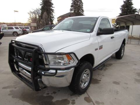 2012 RAM Ram Pickup 2500 for sale at HOO MOTORS in Kiowa CO