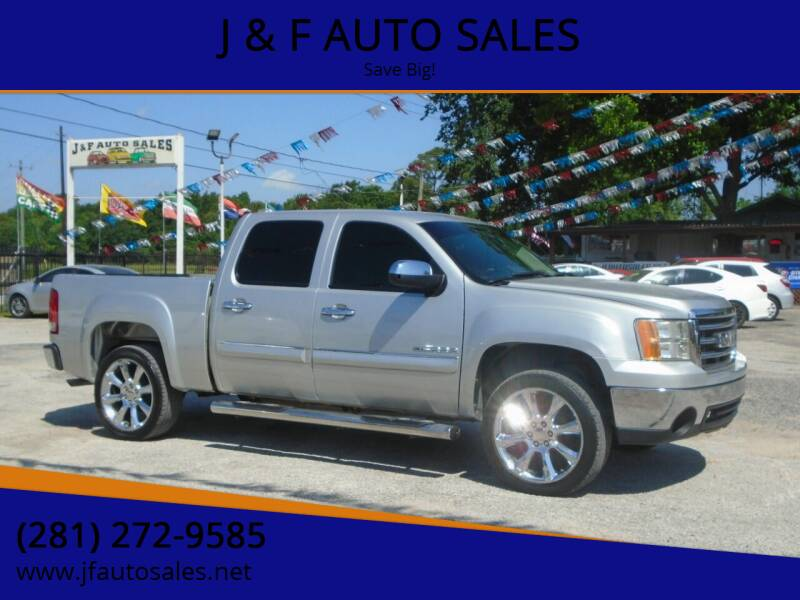 2010 GMC Sierra 1500 for sale at J & F AUTO SALES in Houston TX
