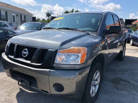 2015 Nissan Titan for sale at VC Auto Sales in Miami FL