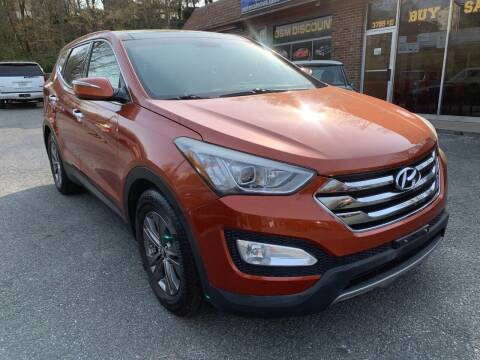 2013 Hyundai Santa Fe Sport for sale at D & M Discount Auto Sales in Stafford VA
