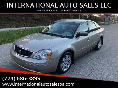 2005 Ford Five Hundred for sale at INTERNATIONAL AUTO SALES LLC in Latrobe PA
