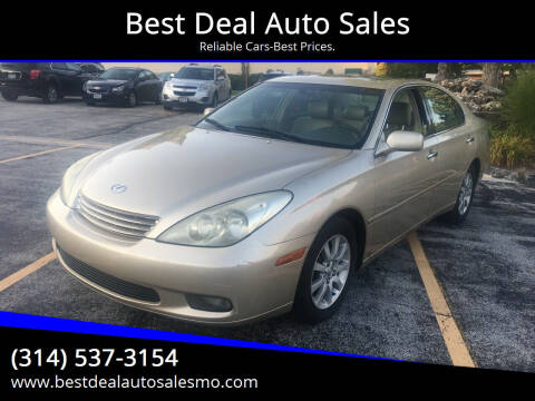 2002 Lexus ES 300 for sale at Best Deal Auto Sales in Saint Charles MO