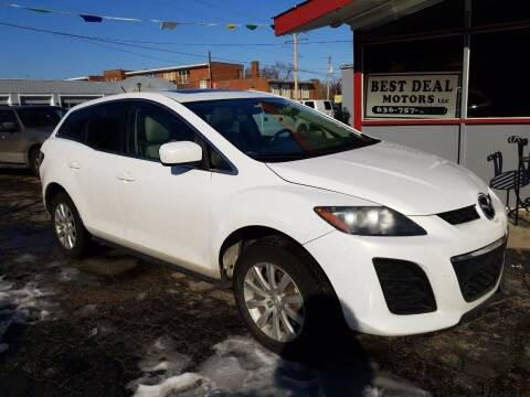 2010 Mazda CX-7 for sale at Best Deal Motors in Saint Charles MO