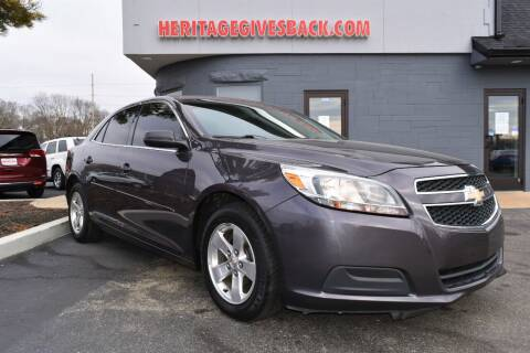 2013 Chevrolet Malibu for sale at Heritage Automotive Sales in Columbus in Columbus IN