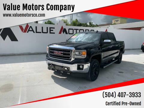 2015 GMC Sierra 1500 for sale at Value Motors Company in Marrero LA
