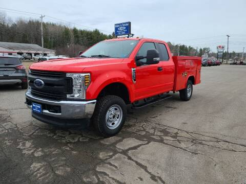 2018 Ford F-250 Super Duty for sale at Ripley & Fletcher Pre-Owned Sales & Service in Farmington ME