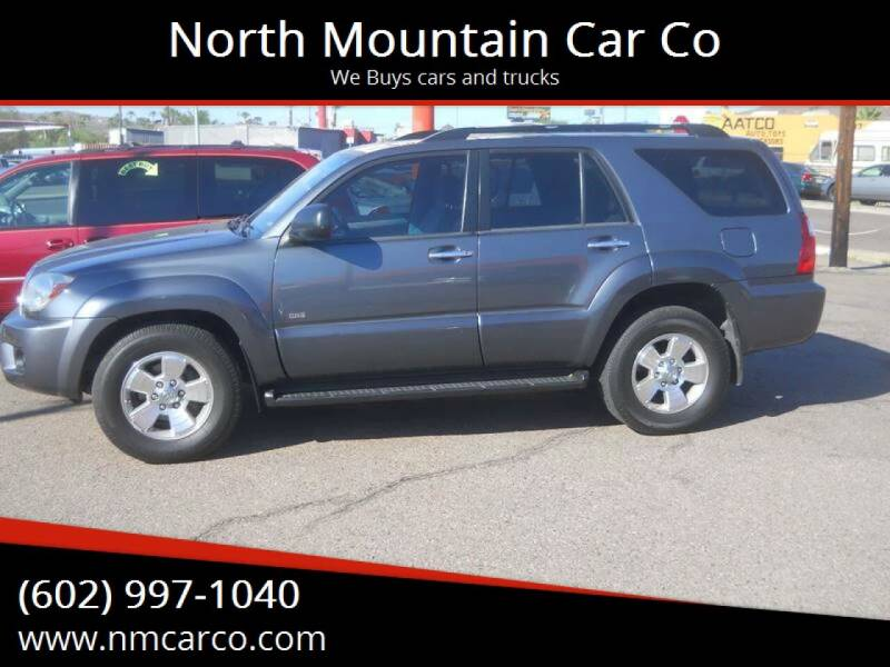 2007 Toyota 4Runner for sale at North Mountain Car Co in Phoenix AZ