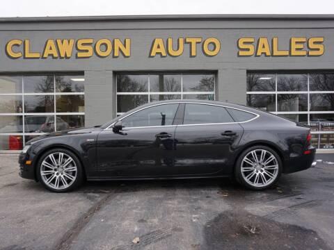 2012 Audi A7 for sale at Clawson Auto Sales in Clawson MI