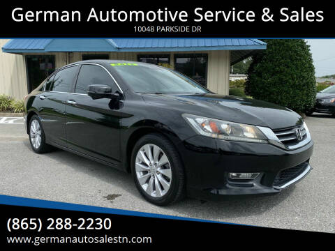 2013 Honda Accord for sale at German Automotive Service & Sales in Knoxville TN