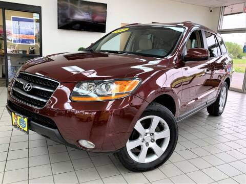 2009 Hyundai Santa Fe for sale at SAINT CHARLES MOTORCARS in Saint Charles IL