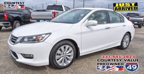 2013 Honda Accord for sale at Courtesy Value Pre-Owned I-49 in Lafayette LA