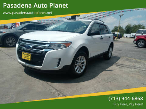 2014 Ford Edge for sale at Pasadena Auto Planet in Houston TX