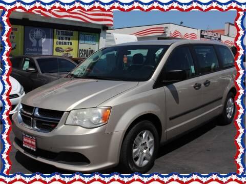 2013 Dodge Grand Caravan for sale at American Auto Depot in Modesto CA