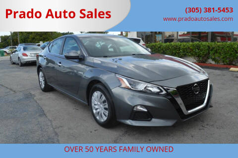 2019 Nissan Altima for sale at Prado Auto Sales in Miami FL