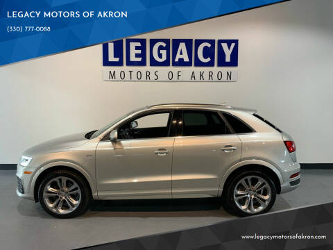2016 Audi Q3 for sale at LEGACY MOTORS OF AKRON in Akron OH