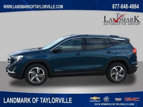 2021 GMC Terrain for sale at LANDMARK OF TAYLORVILLE in Taylorville IL
