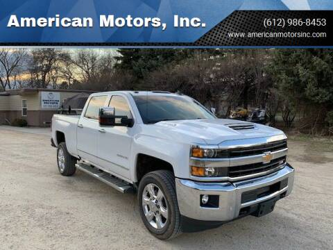 2019 Chevrolet Silverado 2500HD for sale at American Motors, Inc. in Farmington MN
