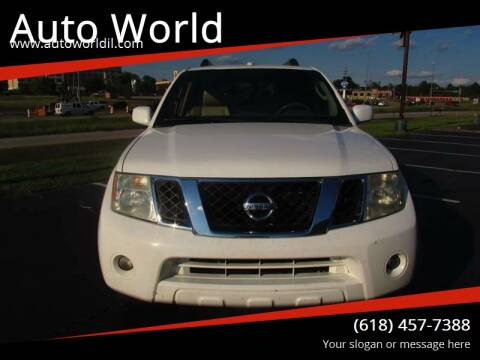 2011 Nissan Pathfinder for sale at Auto World in Carbondale IL