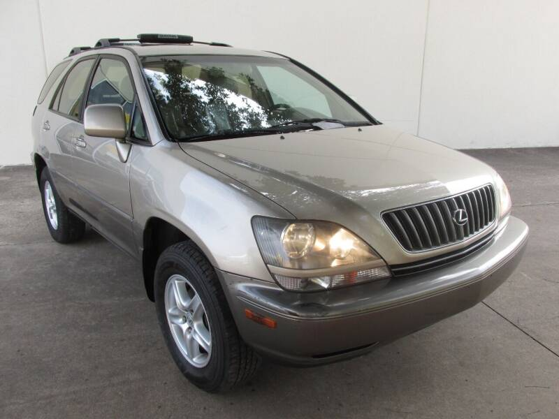 2000 Lexus RX 300 for sale at QUALITY MOTORCARS in Richmond TX