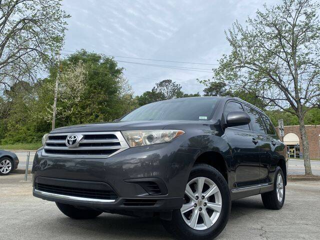 2013 Toyota Highlander for sale at Global Pre-Owned in Fayetteville GA