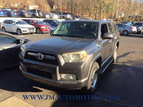 2012 Toyota 4Runner for sale at J & M Automotive in Naugatuck CT