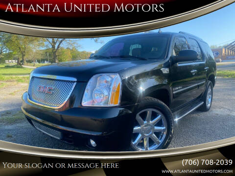 2008 GMC Yukon for sale at Atlanta United Motors in Jefferson GA