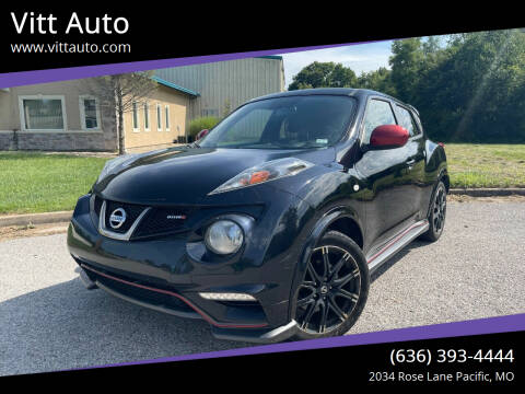 2013 Nissan JUKE for sale at Vitt Auto in Pacific MO