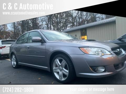 2008 Subaru Legacy for sale at C & C Automotive in Chicora PA