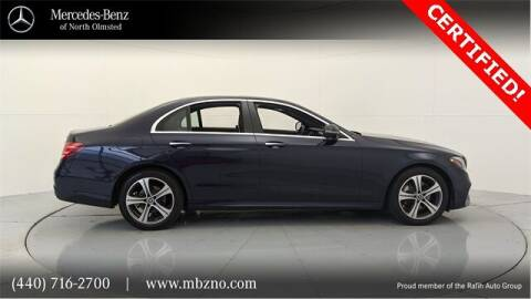 2019 Mercedes-Benz E-Class for sale at Mercedes-Benz of North Olmsted in North Olmsted OH