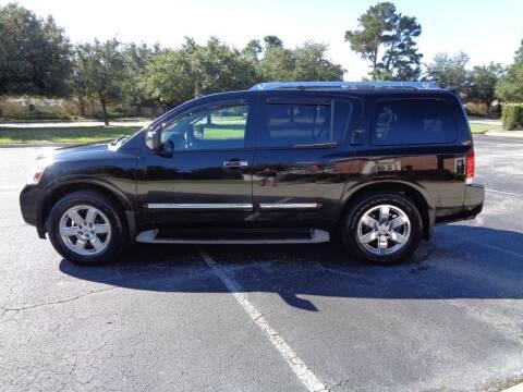 2011 Nissan Armada for sale at BALKCUM AUTO INC in Wilmington NC