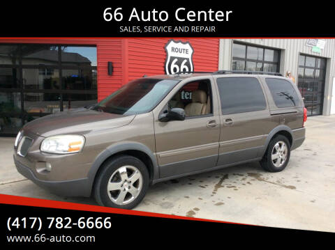 2005 Pontiac Montana SV6 for sale at 66 Auto Center in Joplin MO